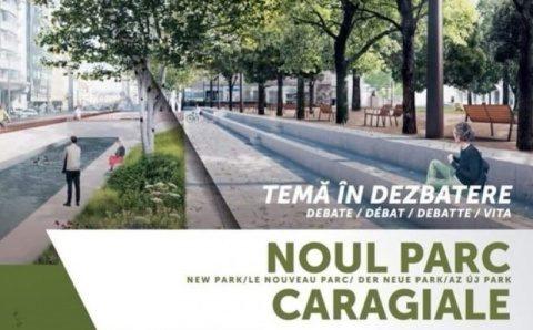 Dezbatere a Primăriei clujene privind noul parc Caragiale