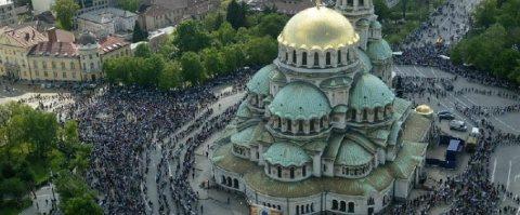 Biserica Ortodoxă Bulgară nu închide bisericile. Slujba de Înviere deschisă publicului