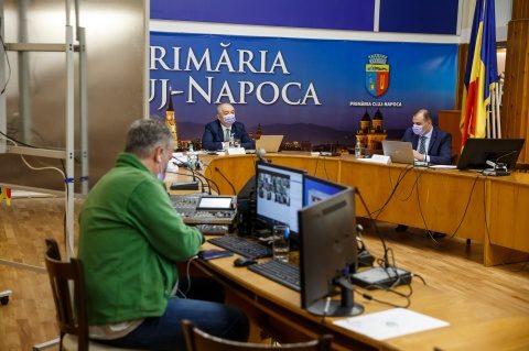 Prima ședință online a Consiliului Local Cluj-Napoca