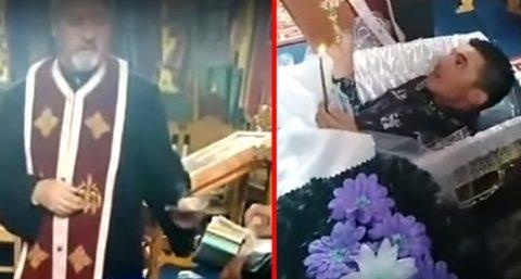 Oprirea de la săvârșirea tuturor lucrărilor sfinte a preotului pensionar Ioan Tonca din Huedin
