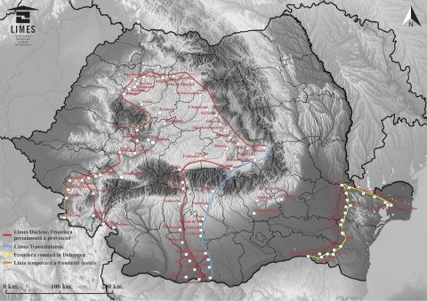 România are cel mai complex sistem de granițe romane din Europa. Cercetătorii lucrează din greu ca acesta să intre în partimoniul UNESCO