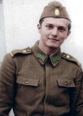 Acad. I.A. Pop a fost de strajă ca grănicer TR la frontiera României cu URSS (Foto)