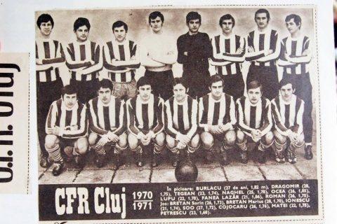 CFR Cluj a anunțat decesul unui fost jucător al echipei ardelene la vârsta de 75 de ani