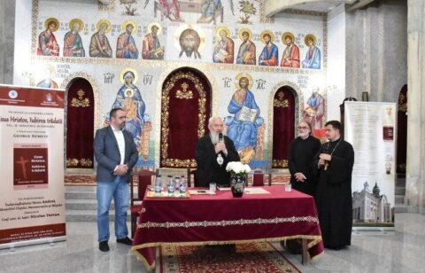 """Lansare de carte George Remete, la Biserica """"Sfinții Apostoli Petru și Pavel"""" din cartierul clujean Mănăștur"""