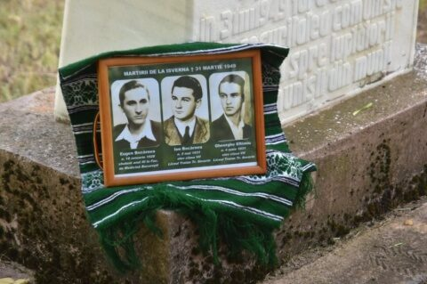 Comunitatea din Isverna s-a rugat pentru eroii patrioți locali ucişi de comunişti