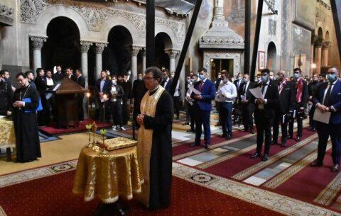 Absolvenții Facultății de Teologie Ortodoxă din Cluj-Napoca, promoția 2020, au depus jurământul de credință
