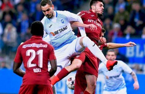 CFR Cluj vs. Universitatea Craiova – luptă aprinsă pentru câștigarea titlului