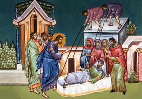 Evanghelia de duminică: Prietenii paraliticului, Biserica ce poartă lumea spre Hristos
