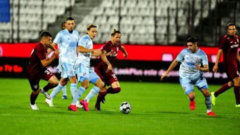 CFR Cluj a fost eliminata din Champions League de croatii de la Dinamo Zagreb