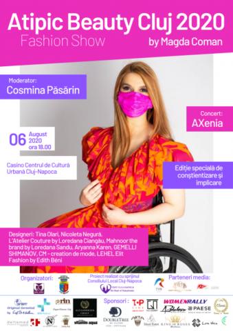 """""""Atipic Beauty Cluj 2020"""" by Magda Coman are loc la Casino"""