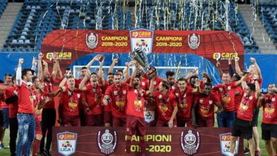 CFR Cluj a fost chemată în instanţă de două societăţi care îi cer falimentul