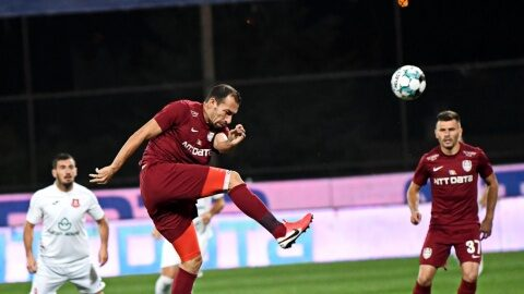 CFR Cluj a învins-o pe Astra Giurgiu cu scorul de 2-0 (1-0)