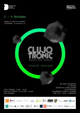 Începe Clujotronic, festival de artă electronică