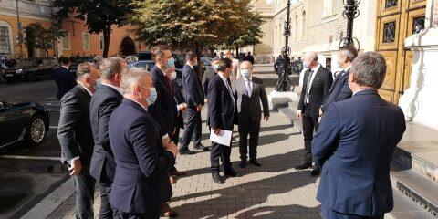 Desant liberal în frunte cu premierul Orban la Cluj