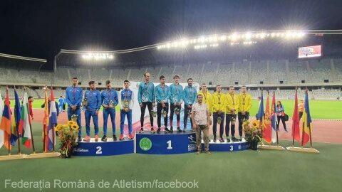 13 medalii câștigate de România la Campionatele Balcanice de atletism pentru seniori la Cluj-Napoca