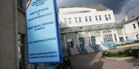 Cazuri de covid-19 la Casa Județeană de Pensii Cluj