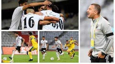 FC Universitatea Cluj a învins-o pe AFC Unirea 04 Slobozia cu scorul de 3-1