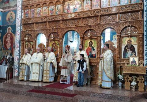 Hram la singura biserică clujeană ocrotită de Sf. Cuv. Dimitrie cel Nou