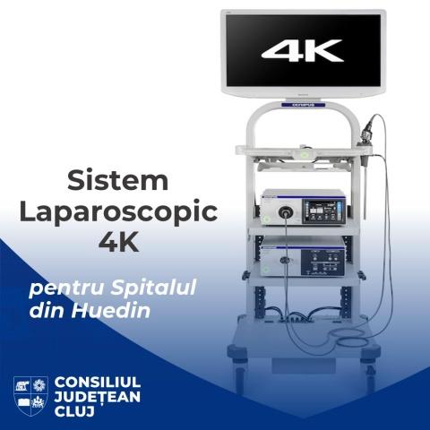 Un nou echipament ultramodern a fost achiziționat de Consiliul Județean Cluj pentru Spitalul din Huedin