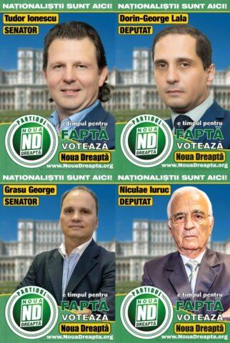 Partidul Noua Dreaptă candidează la alegerile parlamentare