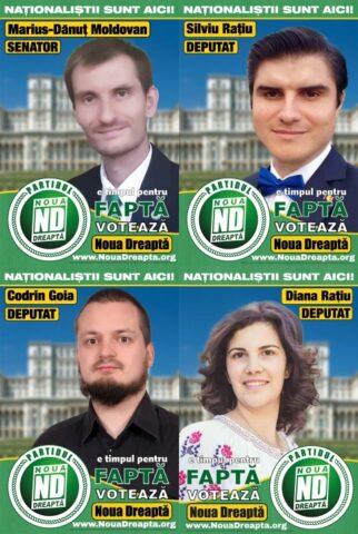 Naționaliștii prezintă liste complete de candidați pentru județul Mureș la Alegerile Parlamentare!