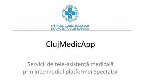 Aplicaţie de tele-asistenţă medicală pentru orice afecţiune la Cluj-Napoca