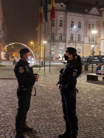 Jandarmii clujeni la datorie de Crăciun. Câte amenzi s-au dat