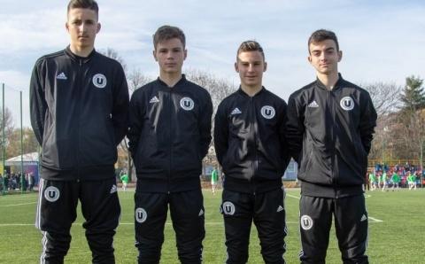 Tineri de la U Cluj  vor participa la finalul lunii la acțiunea naționalei de juniori