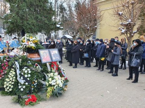 Înmormântarea celui mai mare pictor clujean Viorel Nimigeanu (Foto)