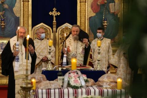 Mitropolitul Andrei a participat la înmormântarea Părintelui Academician Mircea Păcurariu