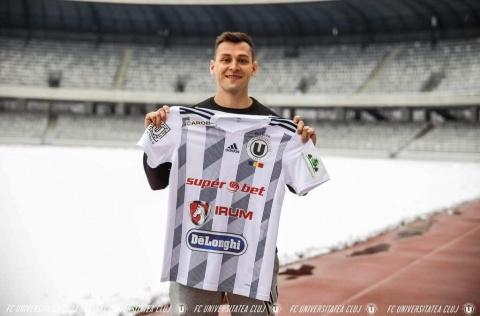 FC Universitatea Cluj anunță transferul argentinianului Lucas Chacana