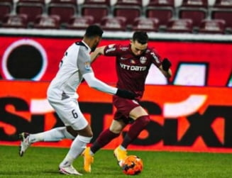 CFR Cluj a invins-o pe Academica Clinceni cu scorul de 3-1