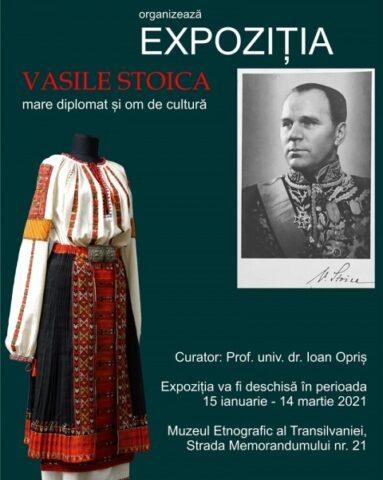 """Muzeul Etnografic al Transilvaniei deschide pentru public expoziția """"VASILE STOICA – MARE DIPLOMAT ȘI OM DE CULTURĂ"""""""