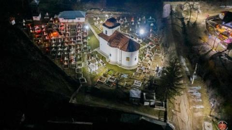 Ierarhi ortodocși la comemorarea martirilor și mucenicilor de la Târgu Ocna. Valeriu Gafencu pomenit