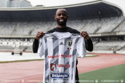 Nigerianul Derick Ogbu este noul jucător al Universității Cluj