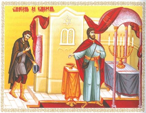 Evanghelia de Duminică: Pilda vameșului și a fariseului – inima smerită antidot pentru trufie