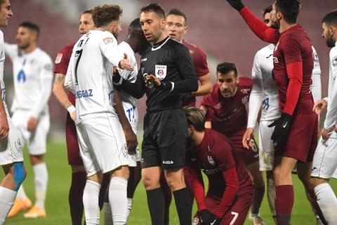 CFR Cluj a învins-o pe Gaz Metan Mediaş cu scorul de 1-0 în deplasare