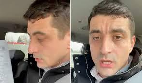 """George Simion nu a fost lăsat să intre în Republica Moldova. """"Stau aici cât timp va fi nevoie"""""""