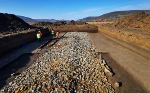 Drum roman vechi de aproape 2.000 de ani a fost descoperit de arheologi în județul Sălaj