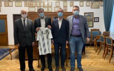 Conducerea FC Universitatea Cluj s-a întâlnit cu rectorul UBB Cluj