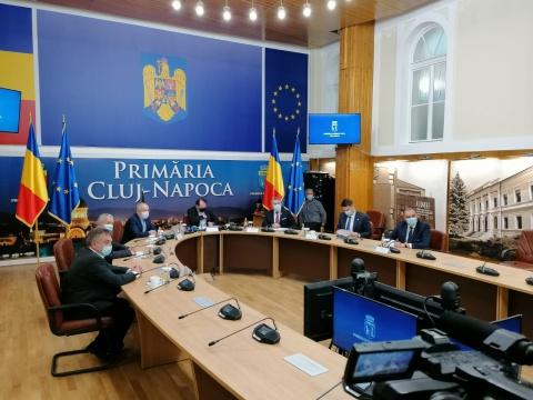 Florin Cîțu la Cluj: Românii să se vaccineze, dacă vrem să revenim la normal