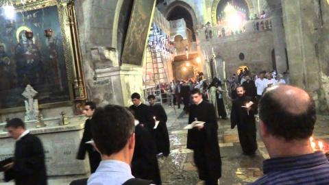 Slujba de la Sfântul Mormânt din Ierusalim doar pentru vaccinați. Noua realitate israeliană