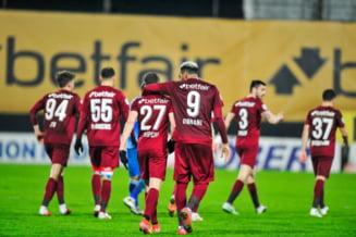 Jucător de la CFR Cluj a fost amendat cu 500 lei pentru proferarea de injurii şi expresii jignitoare, săvârşite în spaţiul public