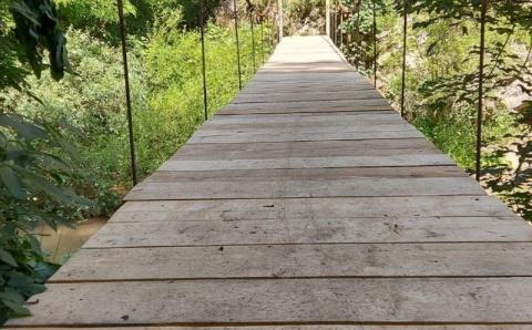 S-a reparat Podul II din Cheile Turzii. A fost redat circulației turistice
