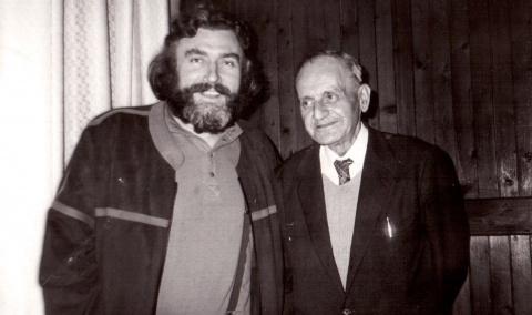 Pozele Zilei: Adrian Păunescu și Constantin Noica