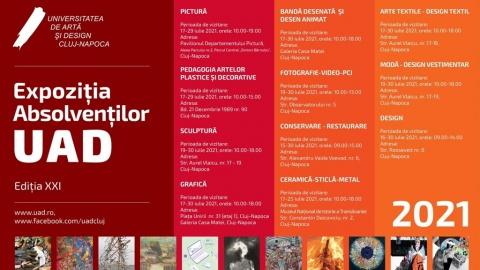 Expoziția Absolvenților UAD 2021