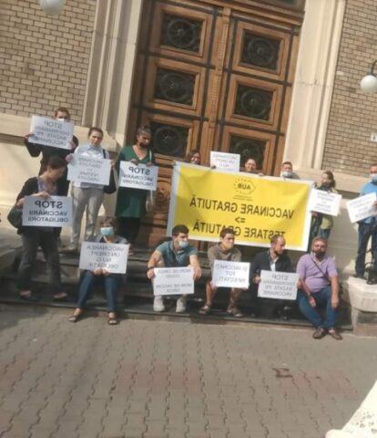 Protest la UBB împotriva discriminării medicale