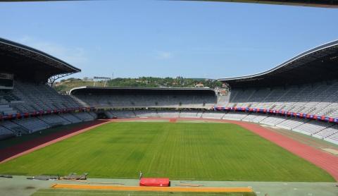 Cluj Arena, vizitat de o delegație UEFA în perspectiva găzduirii Campionatului European de Fotbal U21 2023