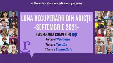 Luna recuperarii din adicții 2021. Programul evenimentelor la Cluj-Napoca