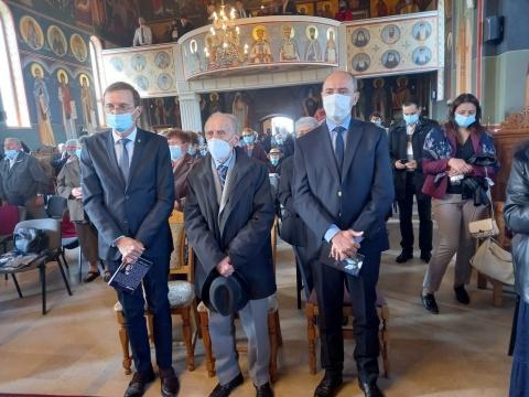 Președintele Academiei Române, Ioan Aurel Pop, a conferențiat la o biserică Parohială din cartierul Mănăștur.